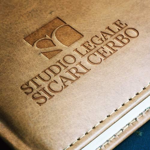 Logo Aziendale E Applicazioni Varie – Studio Legale Avvocati Sicari E Cerbo