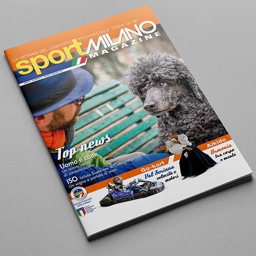 SPORT MILANO MAGAZINE – Progetto Grafico, Impaginazione, Progetto Editoriale, Sito Web Istituzionale.